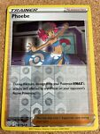 Phoebe 130/163 REVERSE HOLO- Pokemon TCG S&S Battle Styles - New -