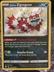 Pokémon TCG Galarian Zigzagoon Shining Fates SV078/SV122 Holo Shiny Holo Rare