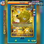Octillery 178/163 SR Battle Styles Pokemon TCG *DIGITAL*
