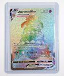 Pokemon Shining Fates Alcremie VMax Shiny Full Art Rainbow 073/072