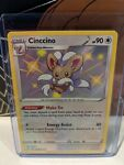 Cinccino SV094/SV122 Baby Shiny Rare Pokemon TCG Shining Fates Near Mint