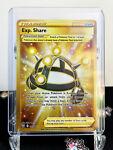 Exp. Share 180/163 - Gold Secret Rare - Pokemon TCG Battle Styles - NM - New