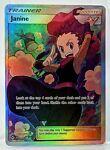 JANINE 210/214 Supporter Unbroken Bonds Full Art Pokemon Card NM/Mint