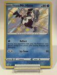 Galarian Mr. Mime SV020/SV122 Shiny Holo Rare Pokemon Shining Fates NM