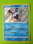 Galarian Mr. Mime Shiny SV020/122 Shining Fates Ultra Rare NM Pokemon
