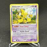 Alakazam 2/123 Holo Rare Mysterious Treasures Pokemon Card