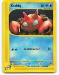115/165 | Krabby | Expedition | Pokemon Card | Mint