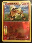 Reverse Holo Growlithe Pokemon Card (BreakPoint Set, 10/122, NM)