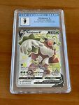 2021 Pokemon Shining Fates - Shiny Rillaboom V SV105/SV122 - CGC 9 Mint PSA