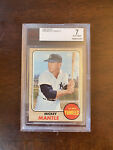 1968 Topps Mickey Mantle BVG 7 - Nicely Centered