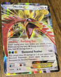 Ho-Oh EX 92/122 Pokemon Card BREAKpoint Ultra Rare