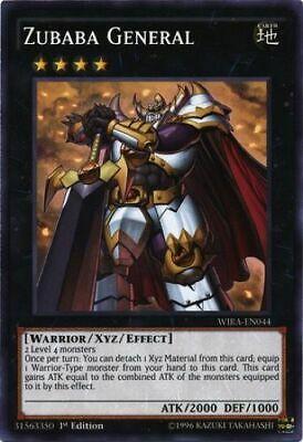 COMMON 1st EDI 3x Zubaba General WIRA-EN044