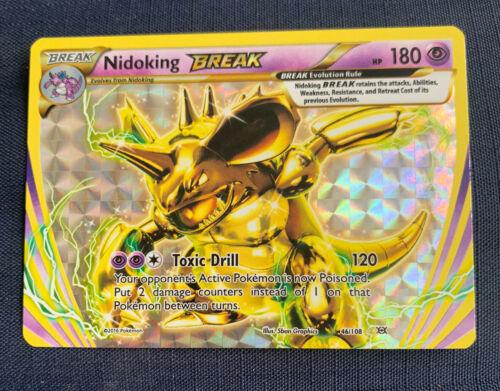 Nidoking BREAK Pokemon Card 46//108 Rare Non Holo 2017 Worldwide Post!