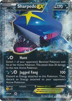 Pokemon XY Primal Clash, Sharpedo Ex 91/160 LP
