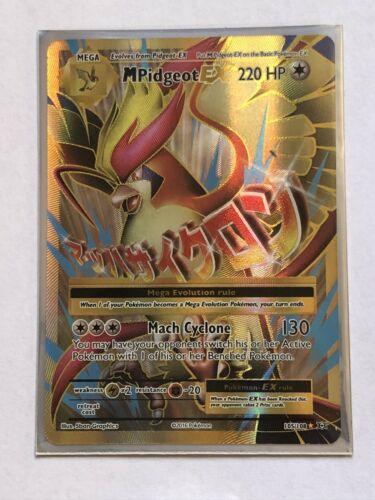 105//108 Full Art Ultra Rare XY—Evolutions 1 x Pokemon Mega-Pidgeot-EX NM-M