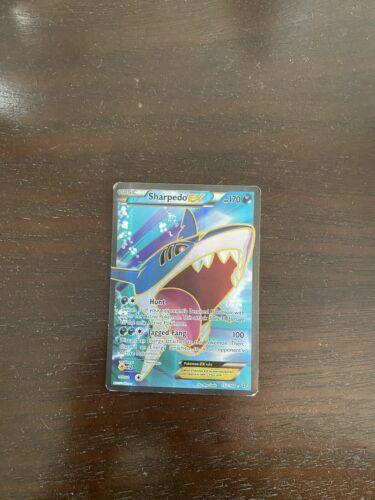 Pokemon TCG Sharpedo EX  91/160  X&Y Primal Clash  Ultra Rare  NM/Mint - Image 2